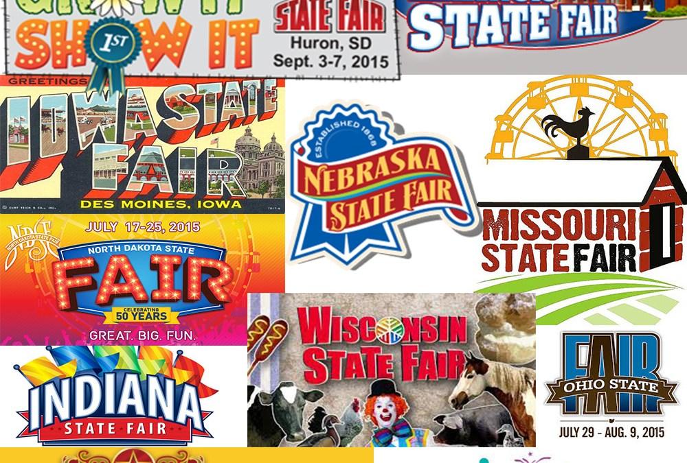 Quilt shows & fair exhibitions dot the Midwest summer landscape.
