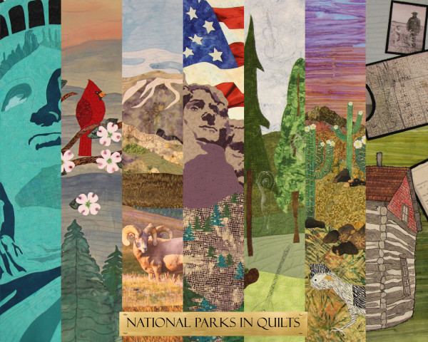 Travelling quilt exhibit at National Parks in 2016