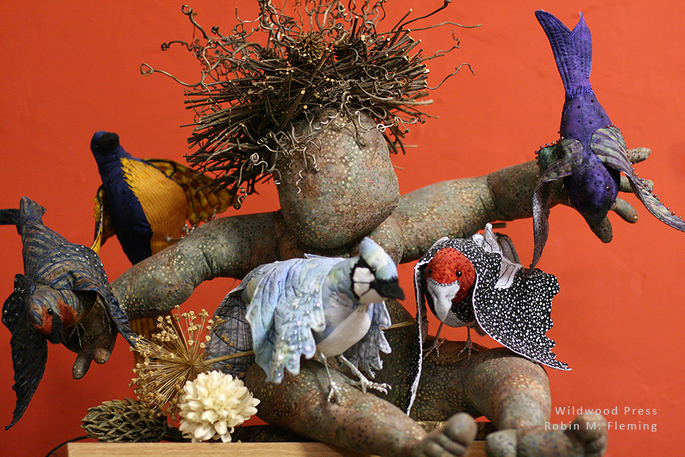 Robin M. Fleming: fiber sculptor
