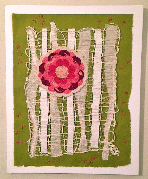 Linda Sweek is passionate about embroidery