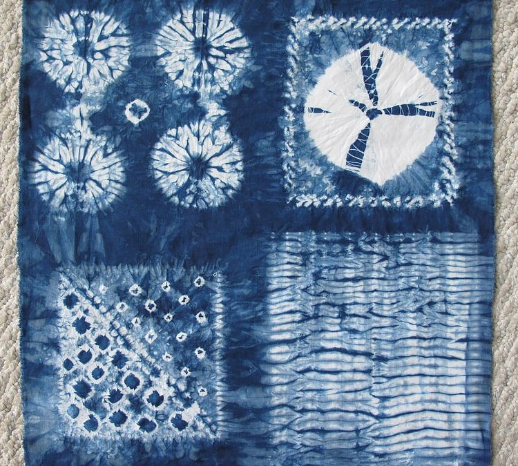 Stitching and Dyeing the Shibori Way