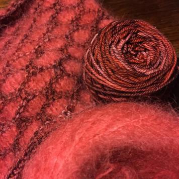 Lovely hand knitting yarn