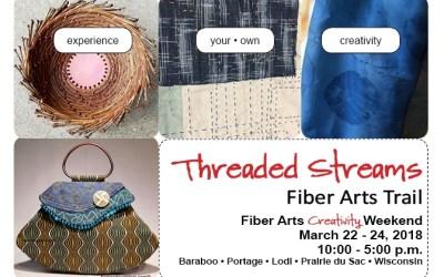 Threaded Streams' 2018 Workshops Highlight: The Business of Fiber Art