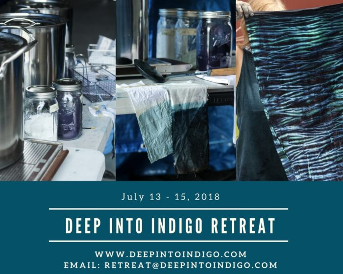 Deep Into Indigo Retreat 2018