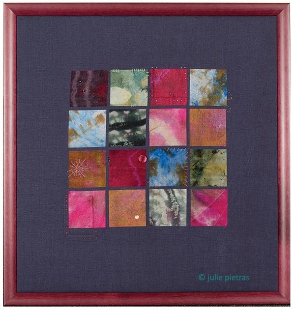 """Framed Art """"Patchwork"""""""