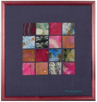 "Framed Art ""Patchwork"""