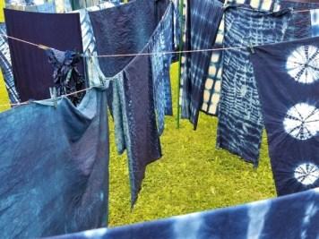 Indigo Clothesline