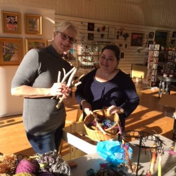 Laura Weber and Tammie Strause - The Pink Llama Gallery, Cedarburg, WI