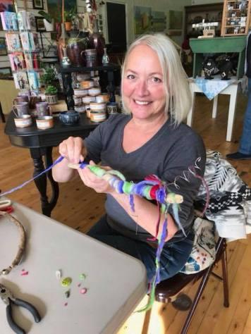 Spirit Stick Maker - The Pink Llama Gallery, Cedarburg, WI