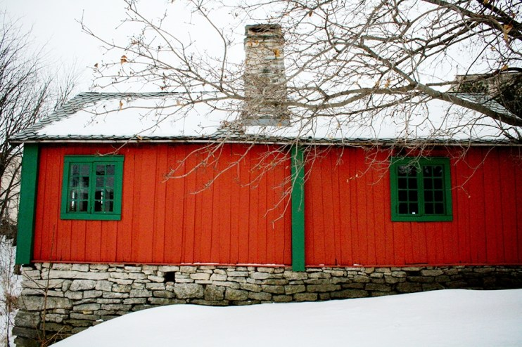 Norwegian house at Vesterheim Museum, Iowa