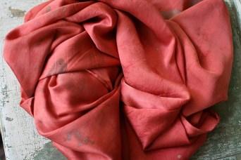 Hand dyed silk, Kipp Inglis, Lodi, WI