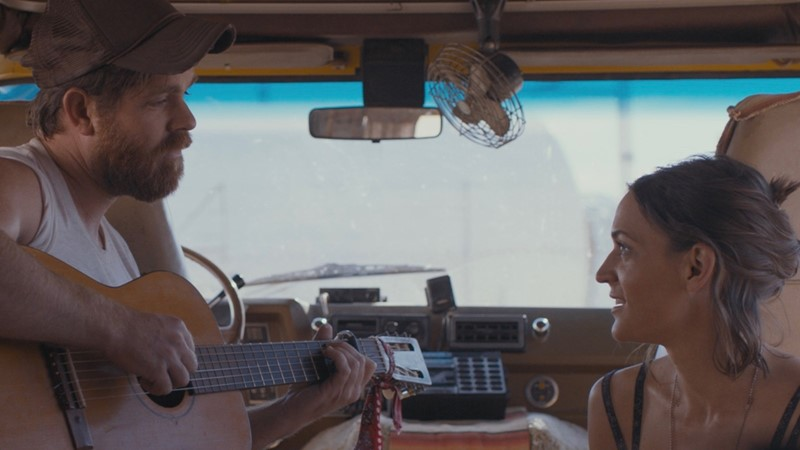 "Joe Purdy and Amber Rubarth play a pair of musical souls stranded in California after 9/11 in ""American Folk,"" playing at the 2017 Heartland Film Festival."