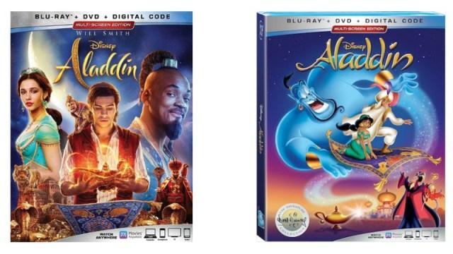 On DVD: Aladdin (2019 & 1992)