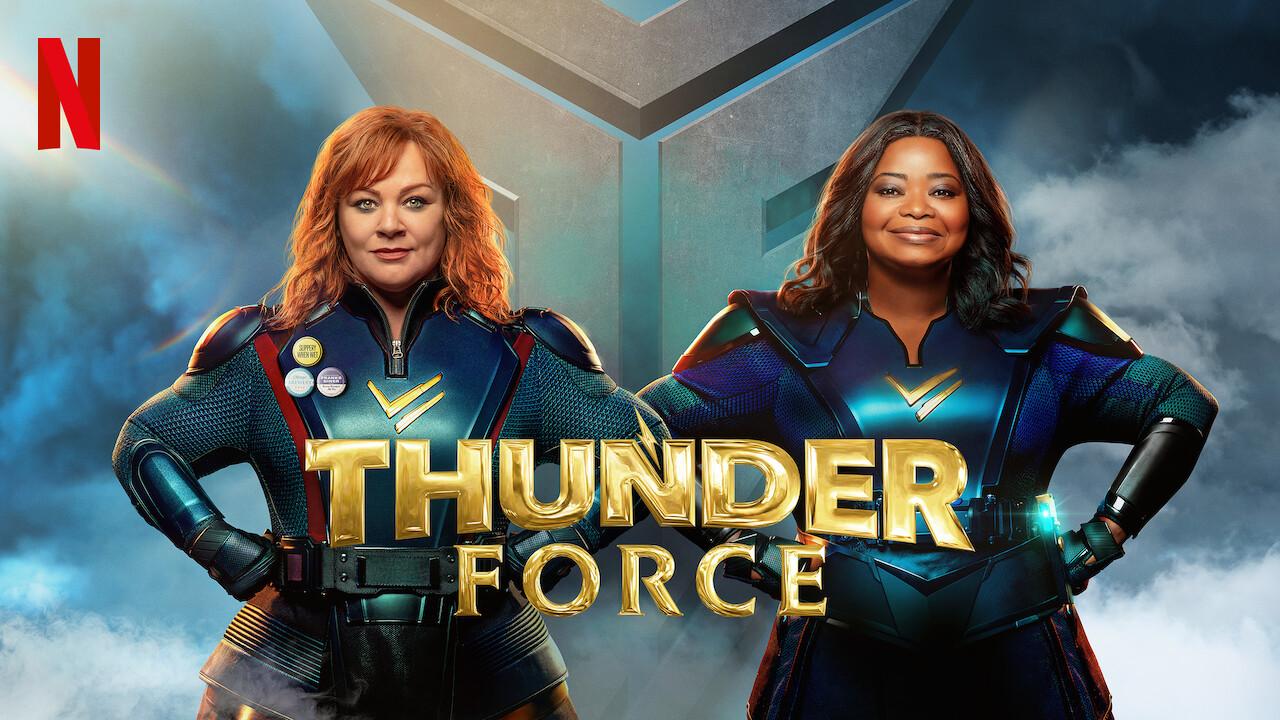 Thunder Force 2021 banner HDMoviesFair