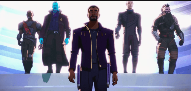 Serial Consumer: What If…? S1 E2: What if T'Challa Became a Star-Lord?