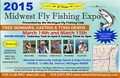 2015 Midwest Fly Fishing Expo Postcard
