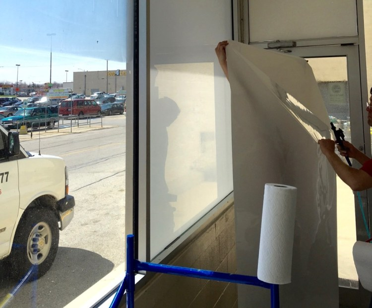 Privacy with Decorative Glass Film 2