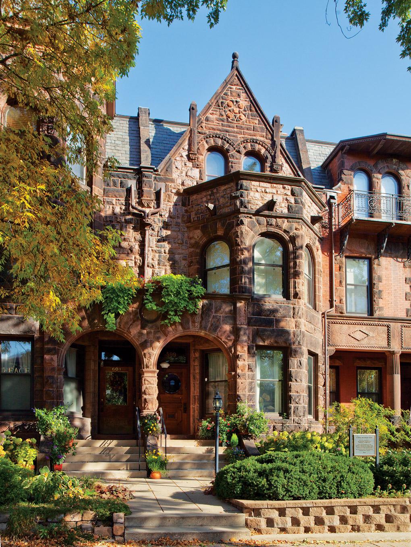 Summit Avenue Mansion Clarence Johnston William Willcox Exterior