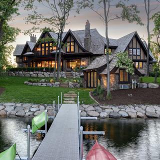 Tudor-Style Wayzata Estate by Stonewood