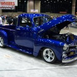 1955 Chevy Pick Up Blue Midwest Hotrods