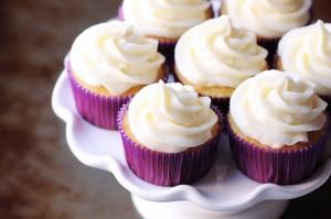 Greek Yogurt Vanilla Cupcakes