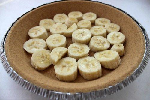 Banana Cream Pie Step 1