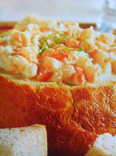 Creamy Seafood Dip make in the slow cooker