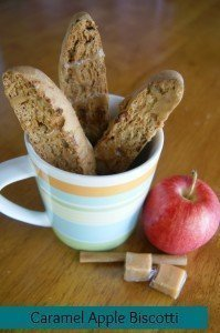 Caramel Apple Biscotti