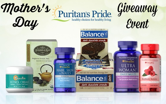 Mothers Day Puritan Pride Giveaway Event