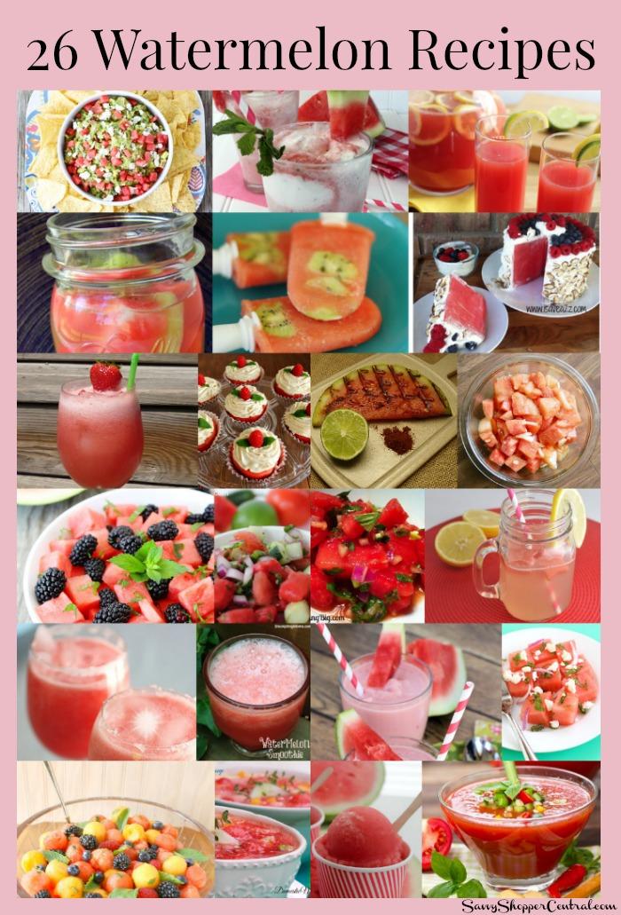 26 Watermelon Recipes