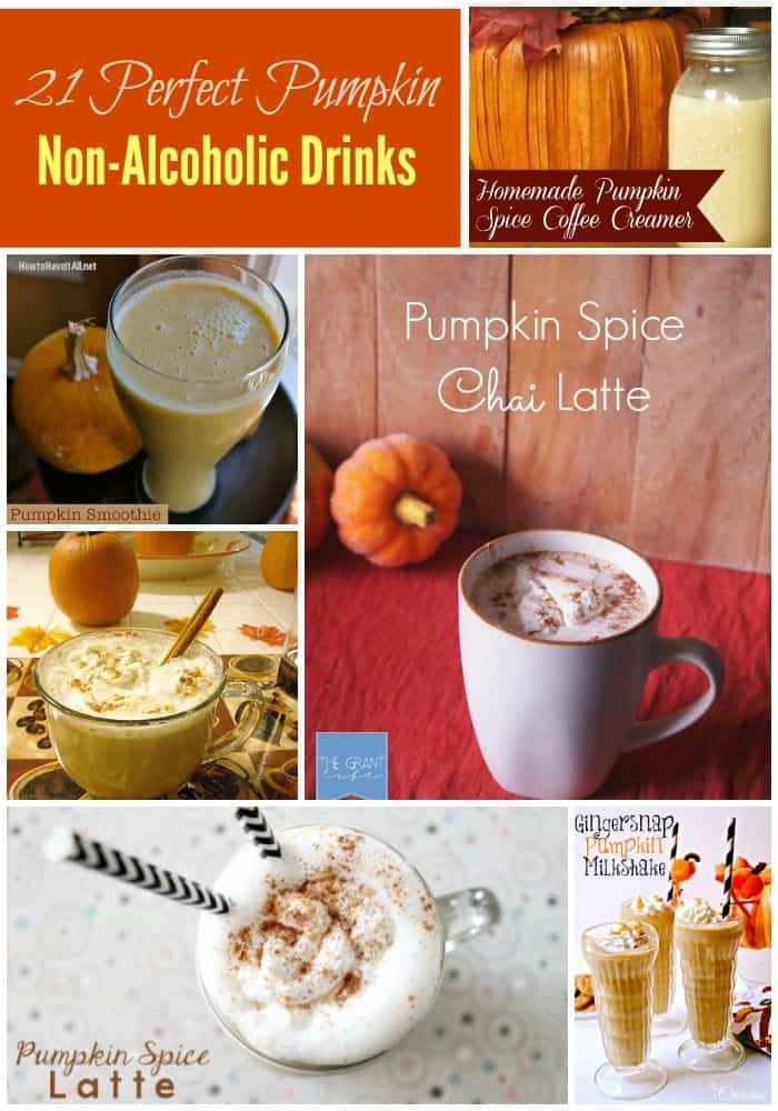 21 Perfect Pumpkin Beverages