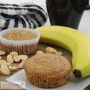 Peanut Butter & Banana Quinoa Muffins Recipe