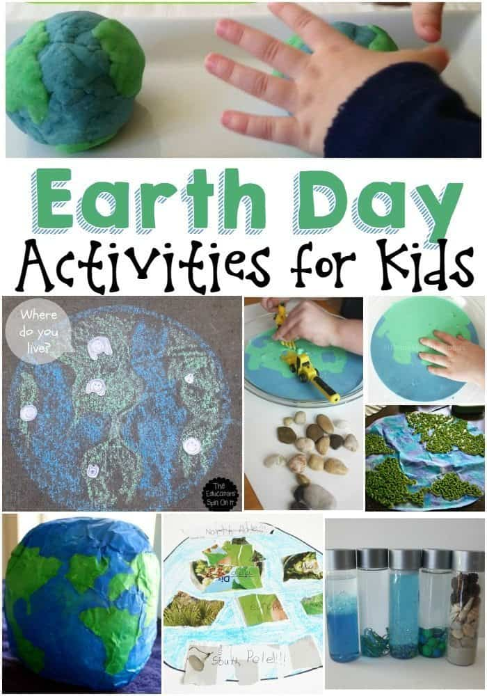 Check out our favorite Earth Day Activities For Kids! Great easy ideas to teach them about their planet and the side effects of their actions on our future!