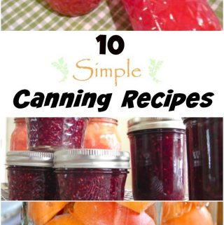10 Simple Canning Recipes