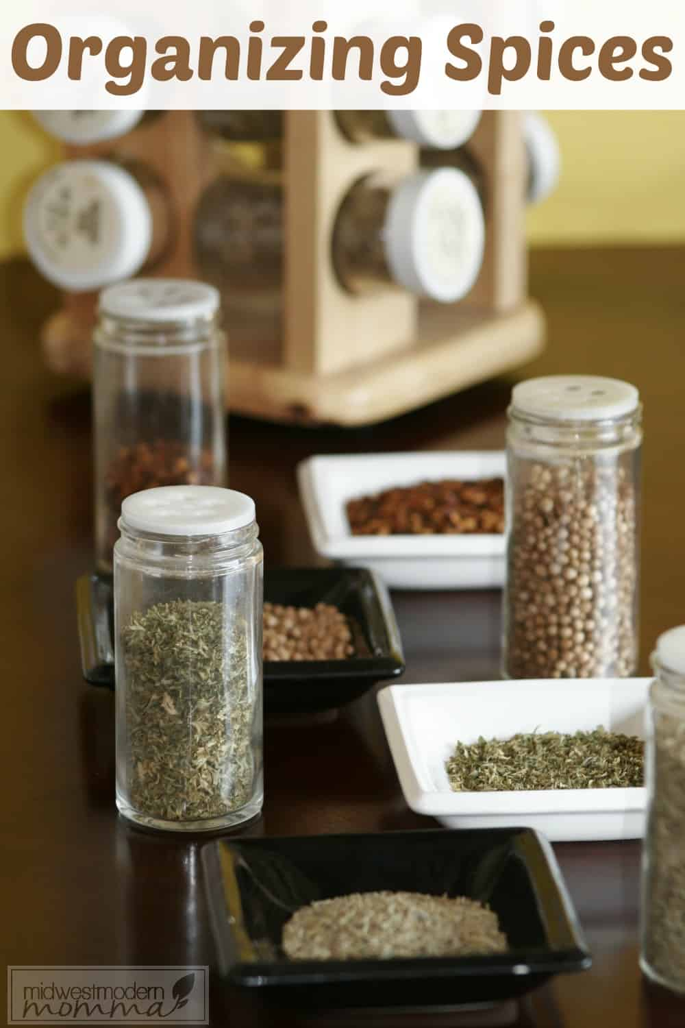 Tips for Organizing Spices
