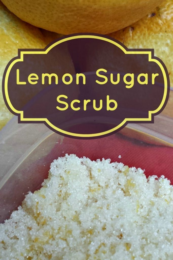 Homemade Sugar Scrub: Everyone loves this Lemon Homemade Sugar Scrub Recipe! It's so bright and refreshing, and super easy to make. A great budget friendly way to pamper yourself!
