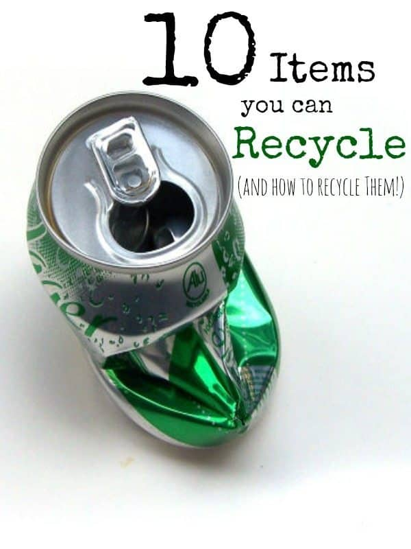 Things You Can Recycle around the house are a great way to help the environment, save money, and even make money! Check out our great tips for items you can recycle today!