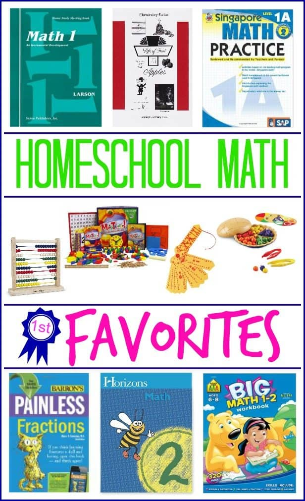 Homeschool Math Curriculum and Resources