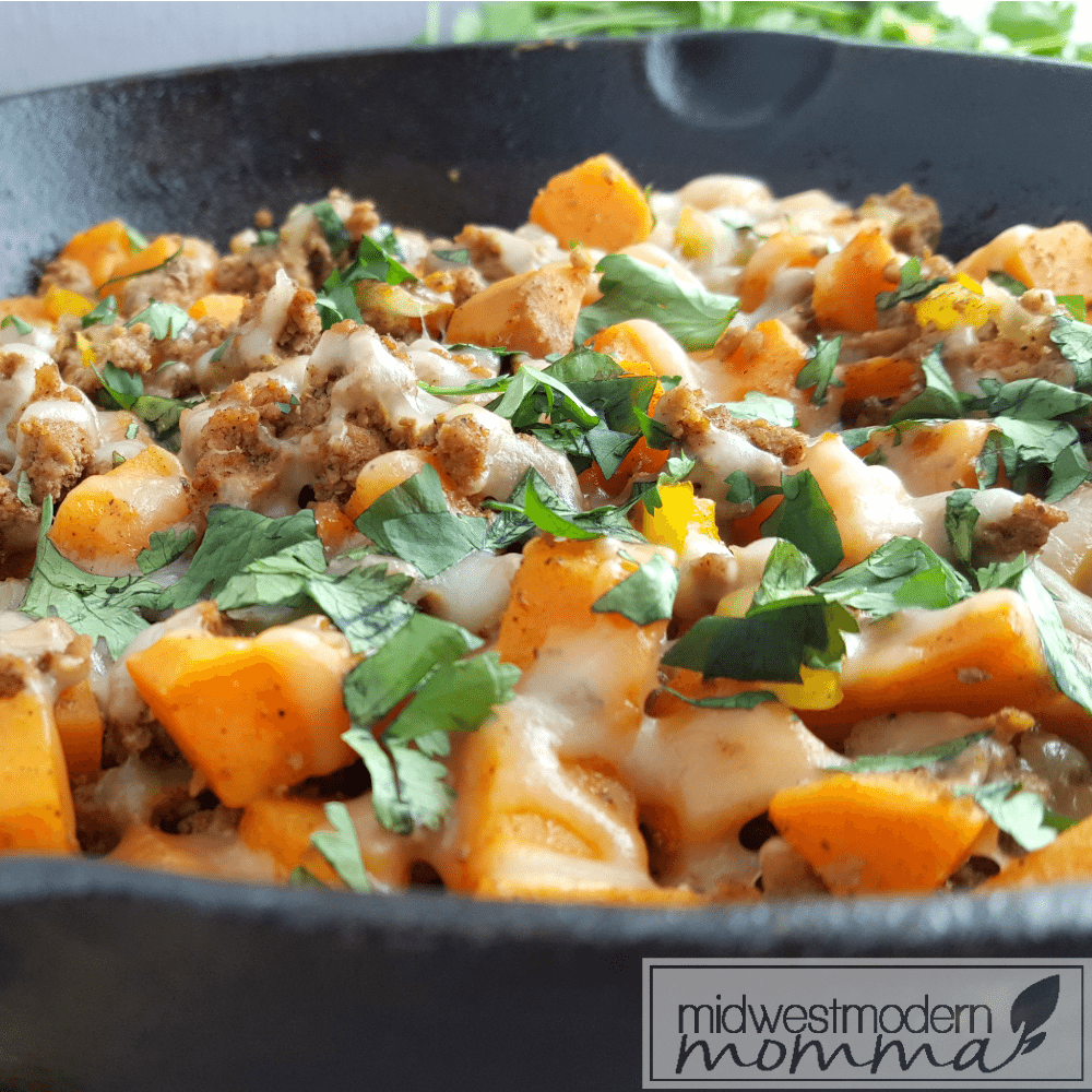 Paleo Sweet Potato Hash is a great grain free meal everyone will love! This easy Paleo meal is a perfect 30 Minute Meal you will love!