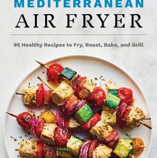 Mediterranean Air Fryer cookbook cover