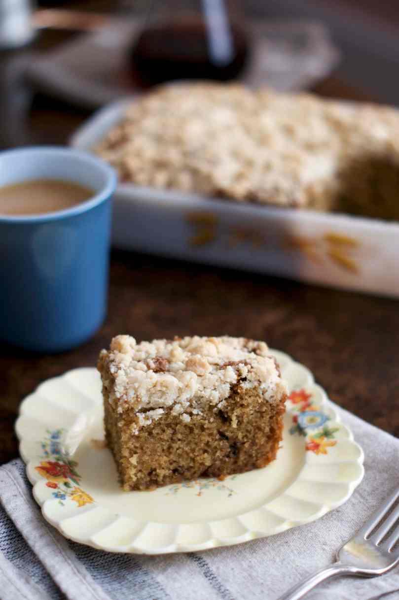 Classic Crumb Coffee Cake   via Midwest Nice Blog