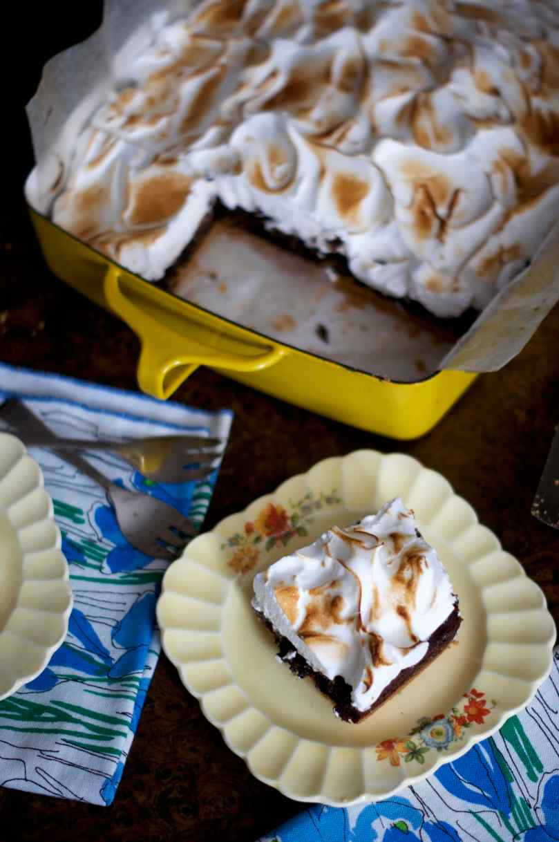 S'mores Brownies | via Midwest Nice Blog