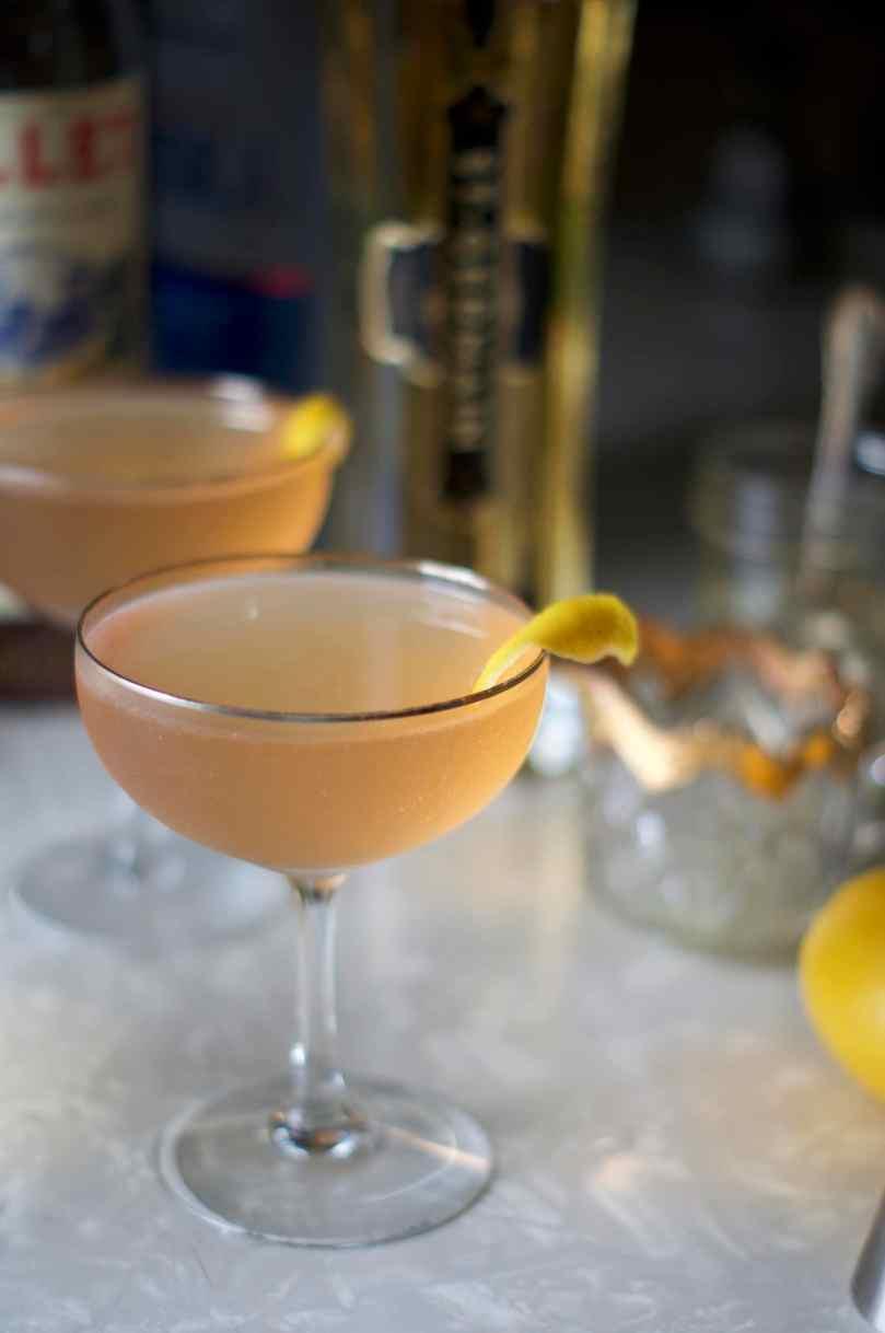 The Lillet Rosé Martini via Midwest Nice Blog