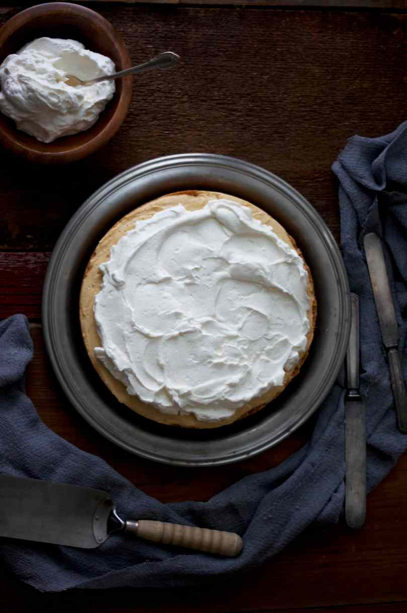 Sweet Potato Cream Pie with Marshmallow Whipped Cream via Midwest Nice Blog