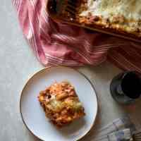 Melba's Lasagna (& intuition)