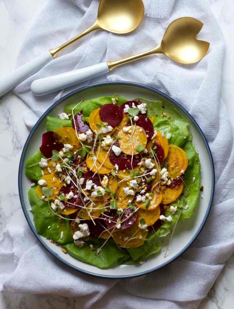Shaved Beet Salad