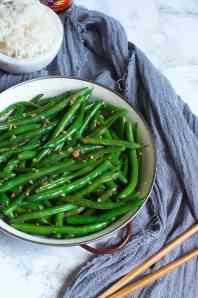 Sesame Garlic Green Beans