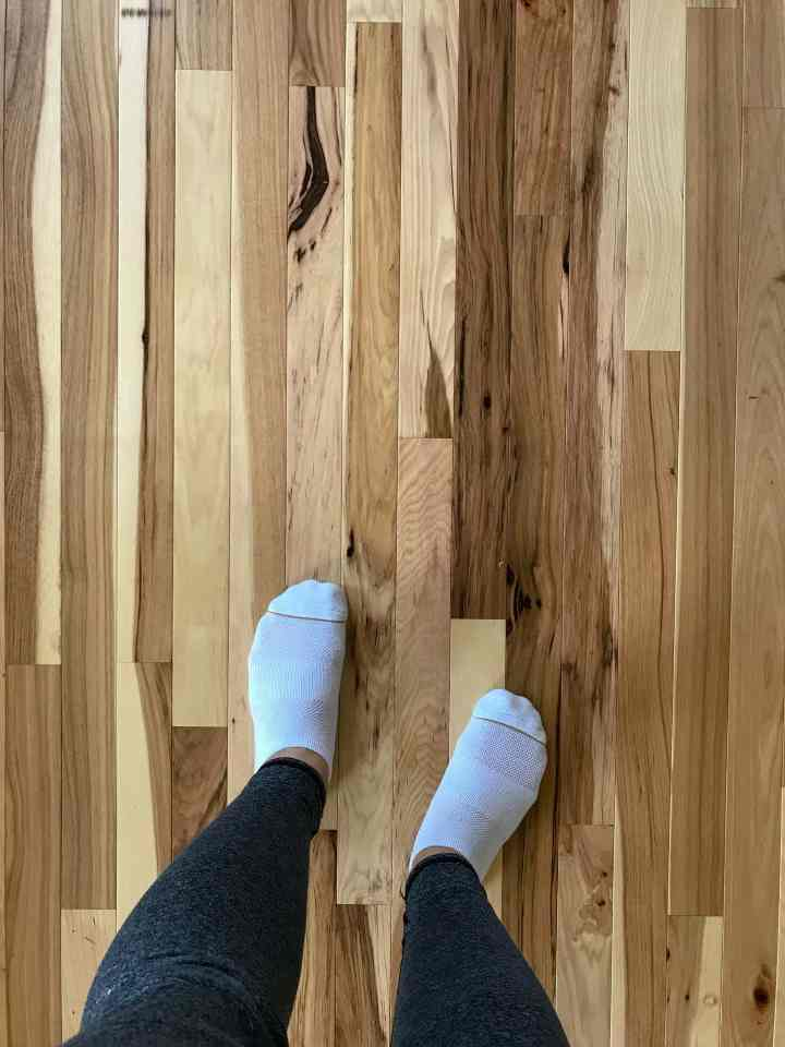 Natural Hickory Hardwood Floor