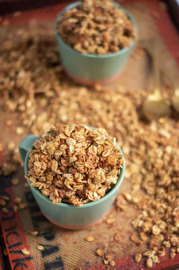 Maple & Vanilla Bean Granola