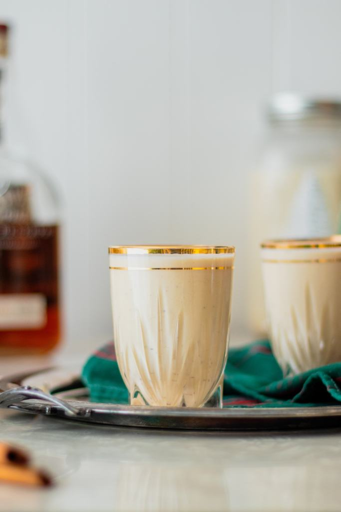 Homemade Aged Eggnog Recipe